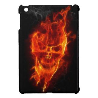Skalle på Fire fodral för iPadkortkort iPad Mini Mobil Skal