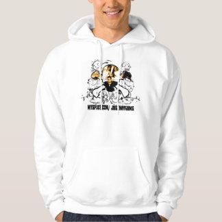Skallegroopiehoodie Sweatshirt Med Luva