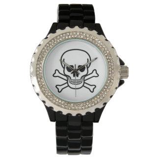 Skalleklocka Armbandsur