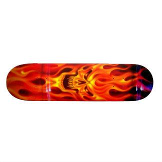 Skallen avfyrar - skridskodäcket skateboard bräda 20,5 cm