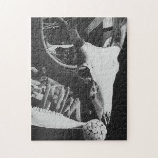 skallepussel för hjort 11x14 (inkluderar gåvan pussel