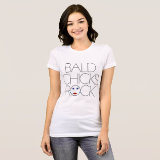 Skallig chicksten t shirt