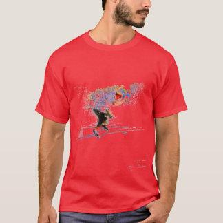 Skallig skater t shirts
