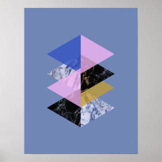 Skandinav abstrakt #886 poster
