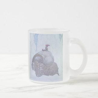 Skandinav för Julebocken sugrörget Frostad Glas Mugg