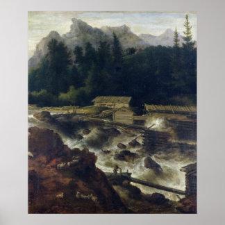 Skandinavet landskap, 1670 poster