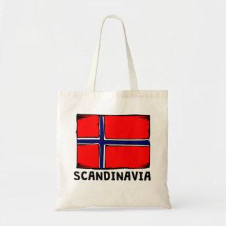 Skandinavienflagga Budget Tygkasse