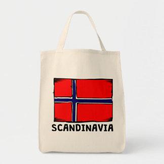 Skandinavienflagga Mat Tygkasse