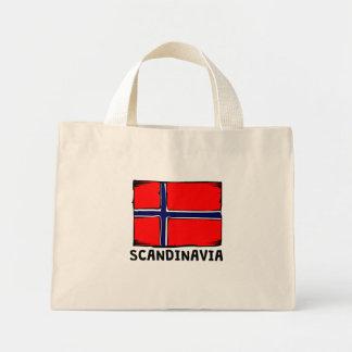 Skandinavienflagga Mini Tygkasse