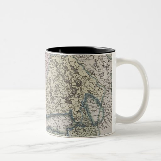 Skandinavisk antik karta kaffe kopp