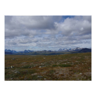 Skandinavisk bergskedja poster