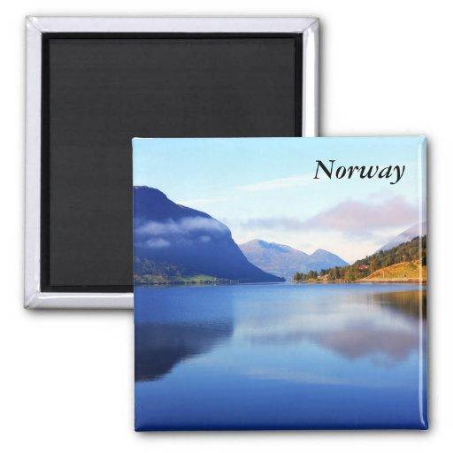 Skandinavisk skönhet, norge kylskåpmagneter