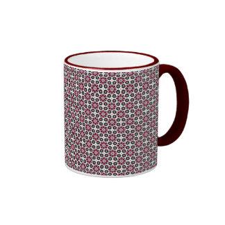 Skandinavisk stilmönstermugg kaffe kopp