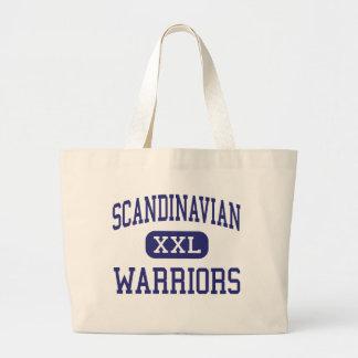 Skandinaviskt krigaremittet Fresno Tote Bags