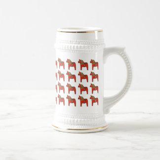 Skandinaviskt mönster för svensk Dala häst Ölkrus