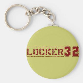 Skåp 32 Keychain Rund Nyckelring