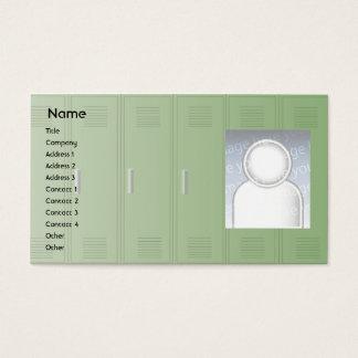 Skåp - affär visitkort