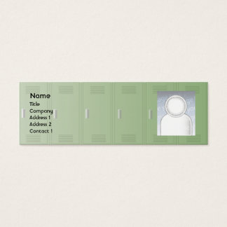 Skåp - smala litet visitkort