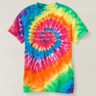 Skapa det beställnings- Tie-Färg för Mardi Gras Tshirts