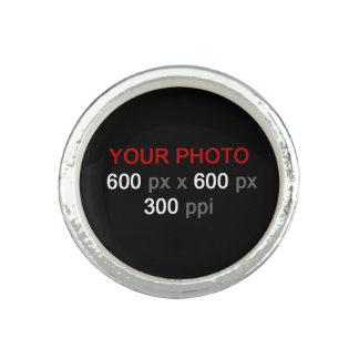 Skapa din beställnings- ring för det egna fotoet