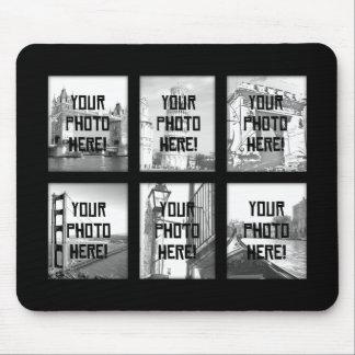 Skapa-Din-Egen fotoCollage Mousepad Musmatta