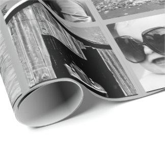 Skapa-Din-Egen gåvasjal för Collage 42-Photo Presentpapper