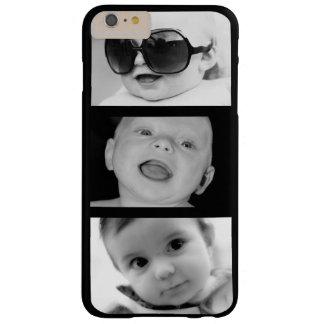 Skapa-Din-Eget 3 fodral för plus för fotoiPhone 6 Barely There iPhone 6 Plus Skal