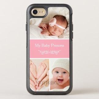 Skapa din egna babyfotoCollage OtterBox Symmetry iPhone 7 Skal