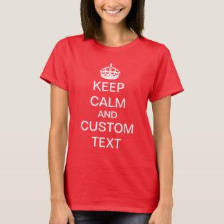 Skapa din egna behållalugn och bär på t-shirts