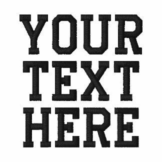 Skapa din egna broderade textPolo Pikétröjor