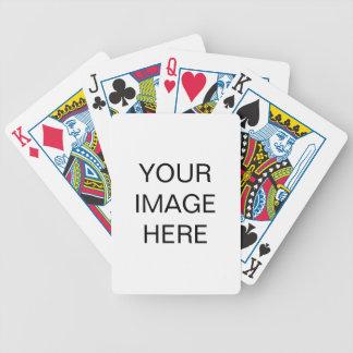 Skapa din egna cykel som leker kort spelkort