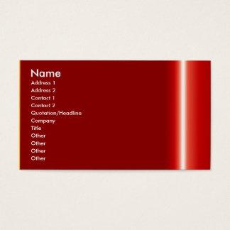 Skapa din egna eleganta röda visitkort
