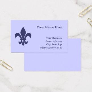 Skapa din egna Fleur de Lis Visitkort