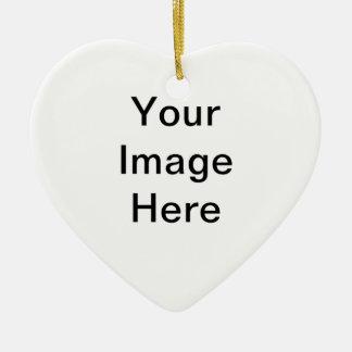 Skapa din egna hjärtaprydnad julgransprydnad keramik