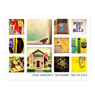 Skapa din egna vykort för Instagram fotoCollage