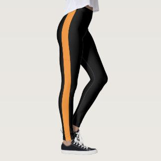 Skapa din görade randig egna kulöra singel leggings