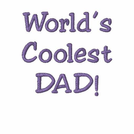 Skapa dina egna skjortor för fars dagPoloGolf! Broderade Polo Tröjor