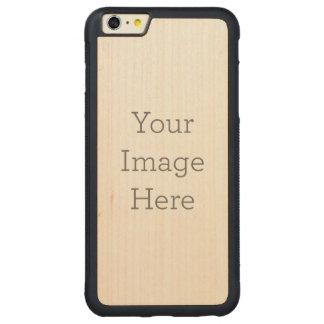 Skapa ditt eget carved lönn iPhone 6 plus bumper skal