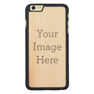 Skapa ditt eget carved lönn iPhone 6 plus slim skal