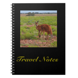 Skapa ditt eget reser anteckningsboken anteckningsbok med spiral