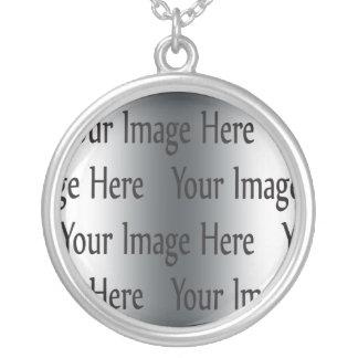 Skapa ditt eget silverpläterat halsband