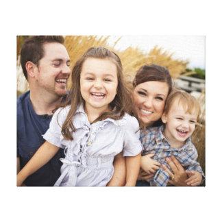 Skapa ditt egna familjfoto canvastryck