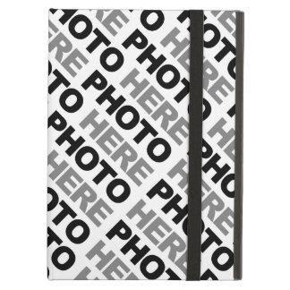 Skapa ditt egna iPadluftfodral med inget cykelstöd Fodral För iPad Air