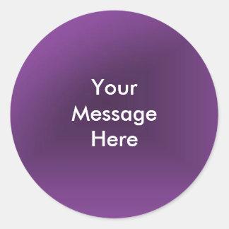 Skapa ditt meddelande runt klistermärke