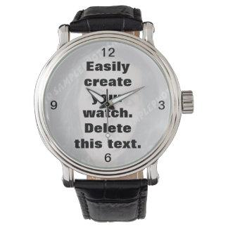 Skapa lätt din egna beställnings- klocka