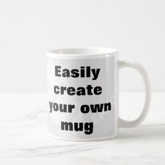 Skapa lätt din egna mugg tar bort den stora