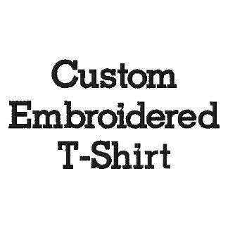Skapa manar anpassningsbar broderade T-tröja
