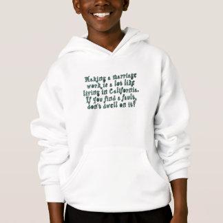 Skapar ett giftermålarbete är en lottnågot tröja