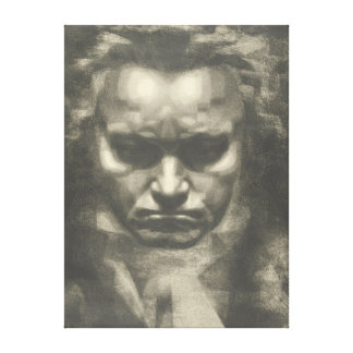 Skåpbil Beethoven porträtt Canvastryck