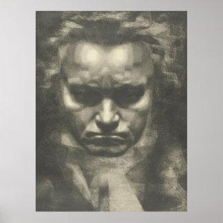 Skåpbil Beethoven porträtt Poster